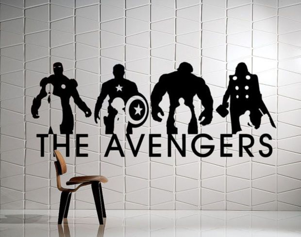The Avengers Wall Mural Ironman Captain America Hulk