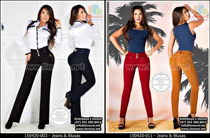 150420 - Catalogo de Ropa / Jeans & Blusas