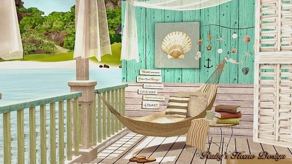 Rubi 39 s home design sea retreat awesome beach house by ruby for Beach house plans sims 3