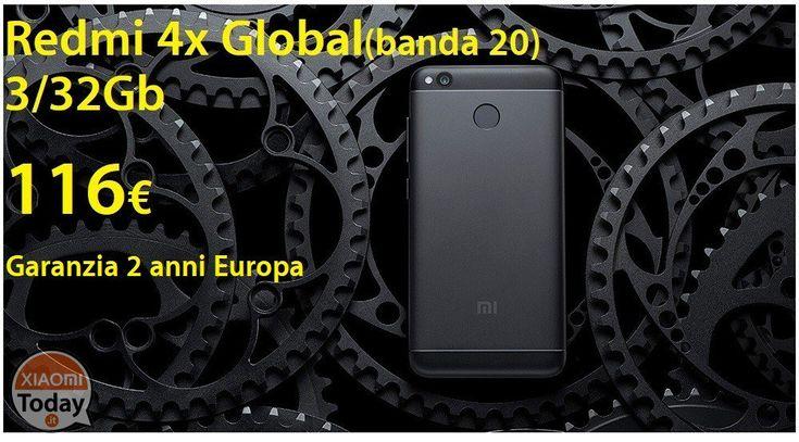 Offerta - RedMi 4X Global Black/Gold 3/32Gb (banda20) a 116€ garanzia 2 anni Europa e spedizione Italy Express Inclusa #Xiaomi #4X #Caratteristiche #Ns1 #Offerta #Redmi4X #Specifiche #Ufficiale #Xiaomi https://www.xiaomitoday.it/?p=17613