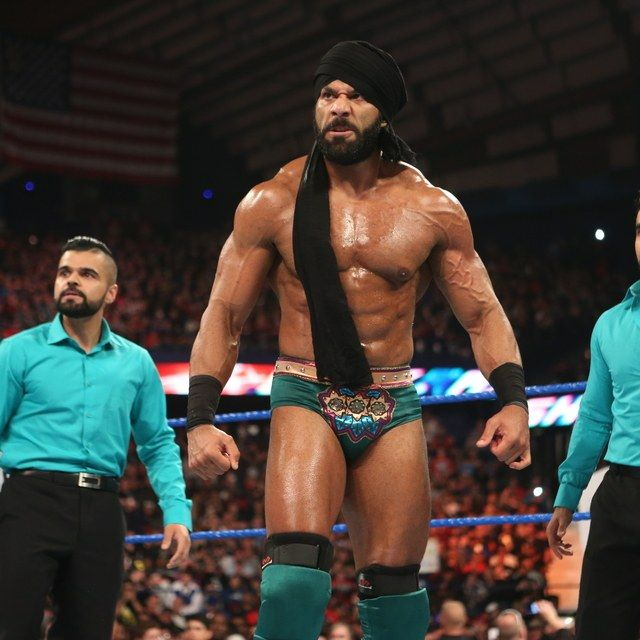 The Real-Life Diet of WWE Star Jinder Mahal, Who Transformed Himself into a Champion | GQ