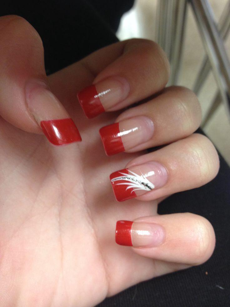 Red tip nail art choice image nail art and nail design ideas red tip nail  art - Red Tip Nail Art Choice Image - Nail Art And Nail Design Ideas
