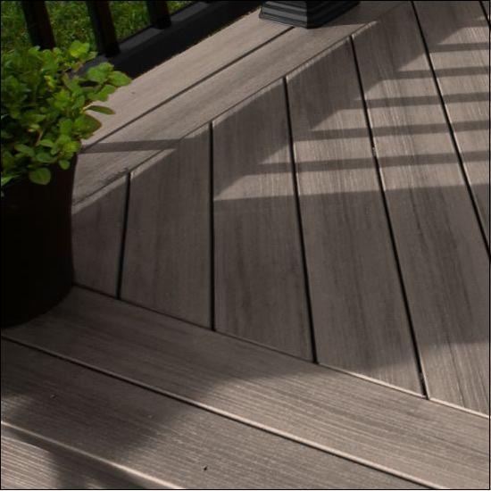 TimberTech® Terrain® Deck Boards    Deck Color: Silver Maple