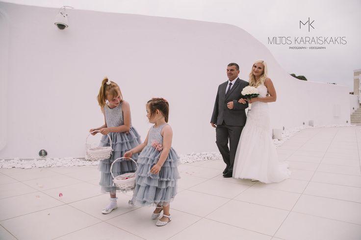 #weddingideas #weddingphotographer #wedding #girls #grey #dresses #bride #happy #hace #mykonos #oia #folegandros #santorini #Greece #miltoskaraiskakis