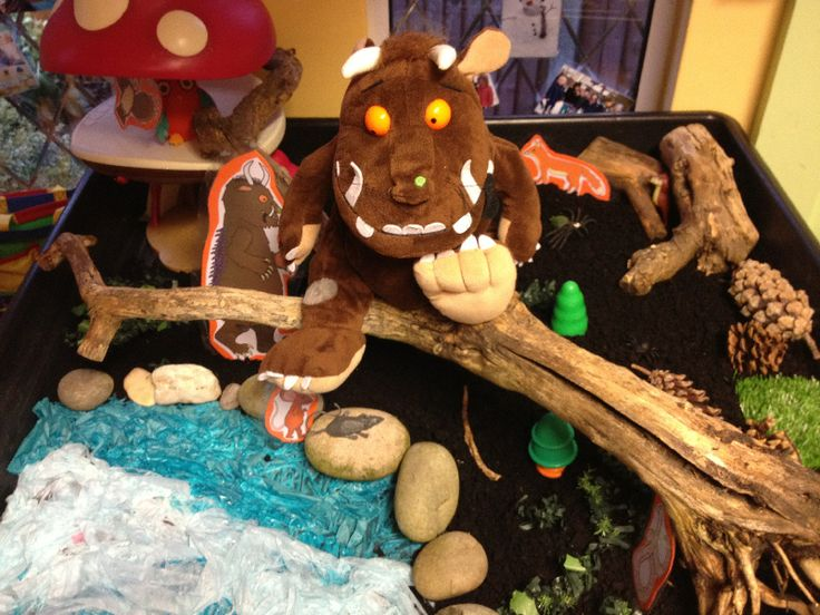 Gruffalo small world classroom display photo - Photo gallery - SparkleBox
