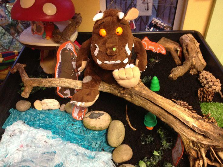 Gruffalo small world classroom display photo - Photo gallery - SparkleBox