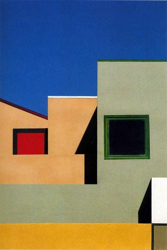 Franco Fontana | Architectural landscapes
