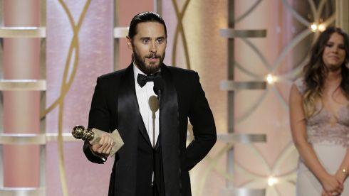 Jared Leto - 2014 Golden Globe