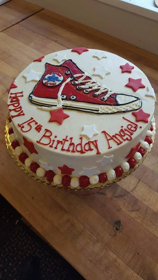 #cake #birthday #converse                                                                                                                                                                                 More
