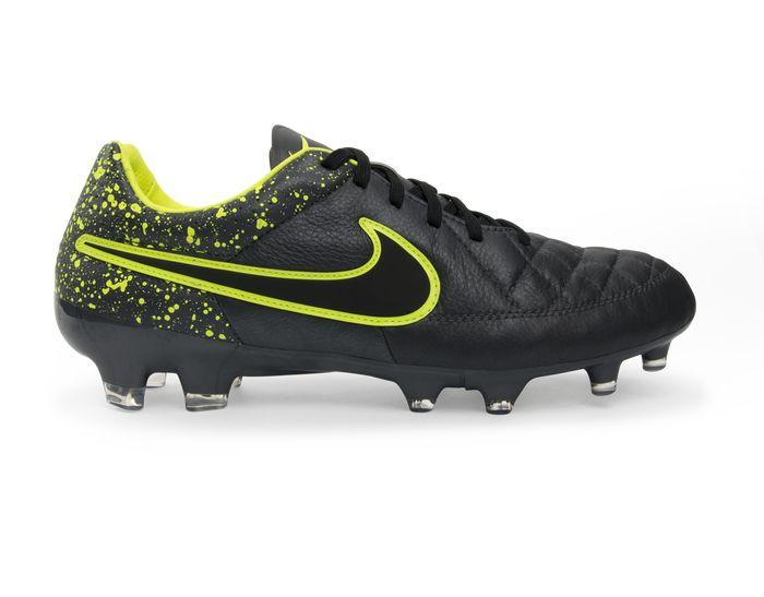 Nike Men's Tiempo Legacy FG Anthracite/Black/Volt