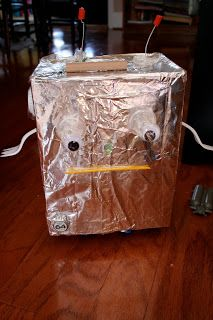 Kid's Craft: Recycled Robot