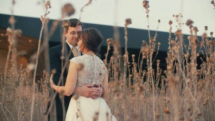 Click to watch this romantic wedding film. Both the bride and groom cry during the ceremony and they have a crazy fun dance party at the trinity river Audubon center.