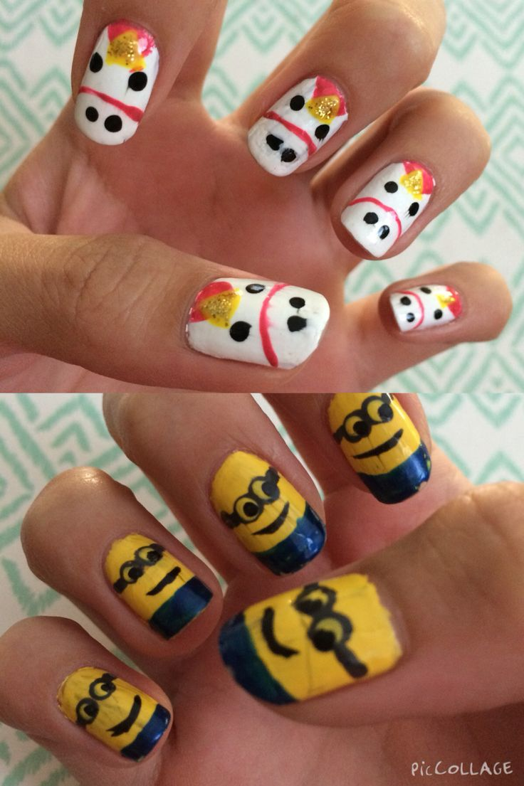 Nail Art Ideas minon nail art : 17 best Nail art images on Pinterest | Despicable me, Unicorns and ...