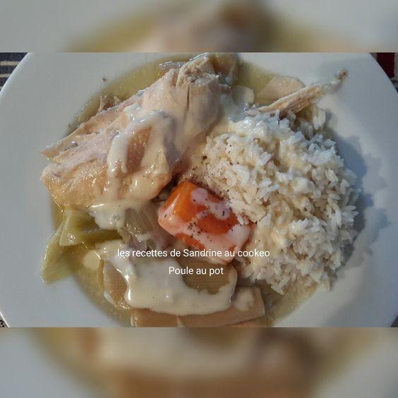 Poule au pot et sa sauce blanche au cookeo