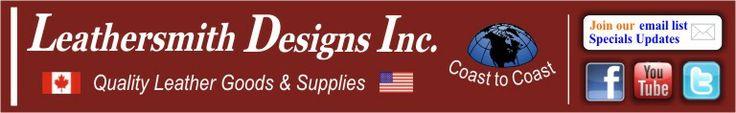 Leather Craft Supplies, Leather Craft Supplier -- Canada - leathersmithdesigns dot com