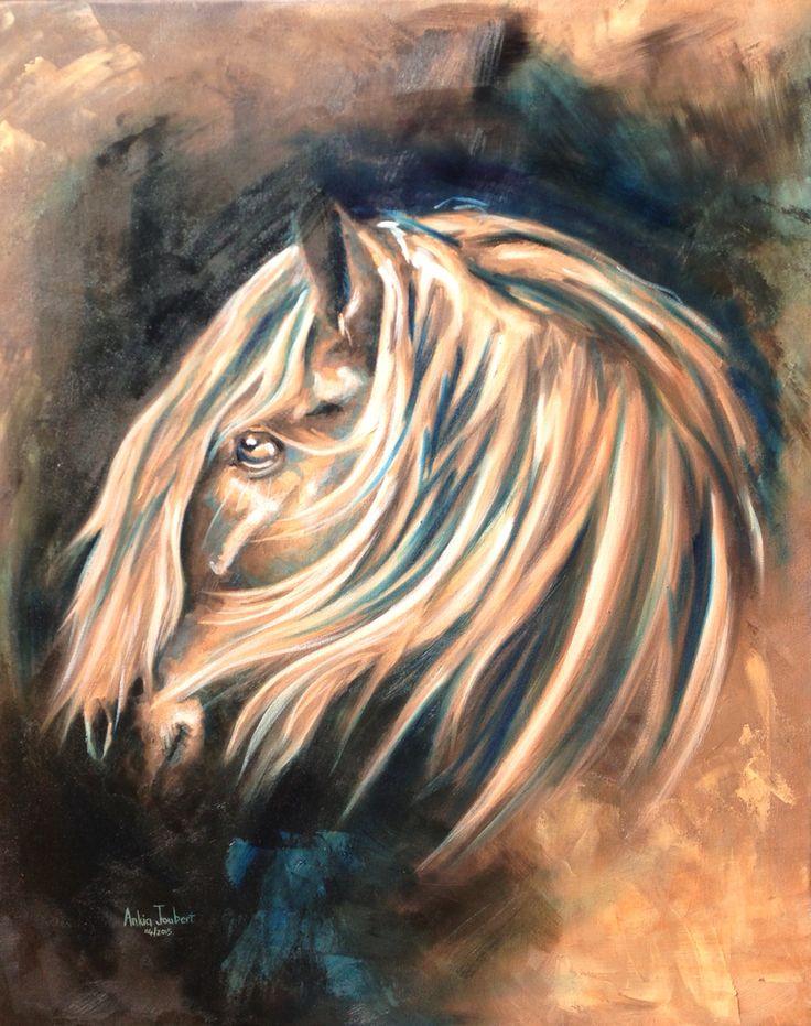 """""""Dreamer"""". Oil on Canvas. 61cm x 76cm (24 inch x 30 inch)."""