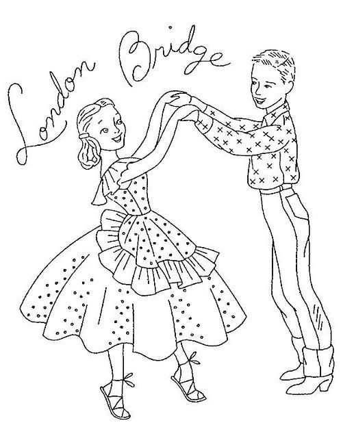 Square Dance  London Bridge