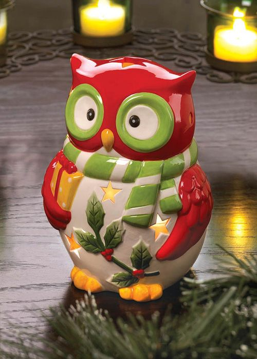My Owl Barn: Holiday Hoot Owl Ceramics