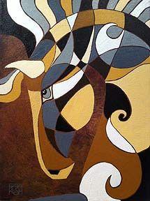 Horse Painting - Synergy Fine Art