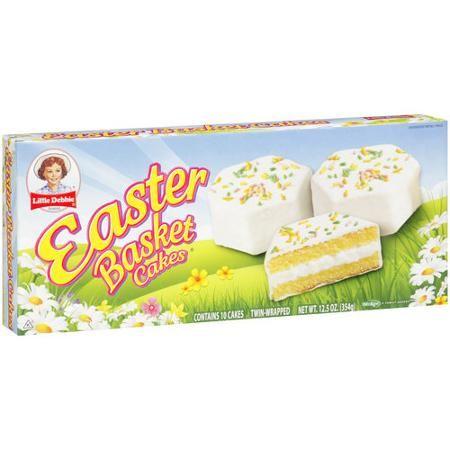 Little Debbie Snacks Easter Basket Cakes, 10ct