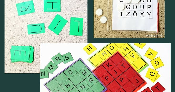 Toiminnallisia ideoita äidinkielen pistetyöskentelyyn esi- ja alkuopetuksessa