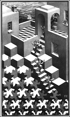 Escher- quilt it? love his work so much