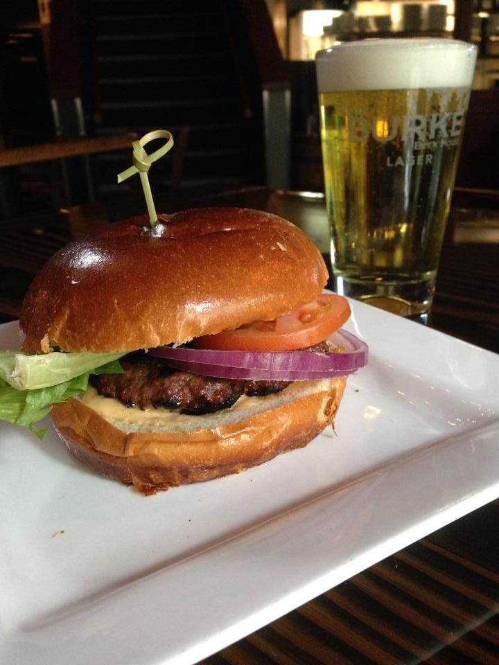 The Burke Burger at The Burke Beer House http://www.theburkebeerhouse.ca/