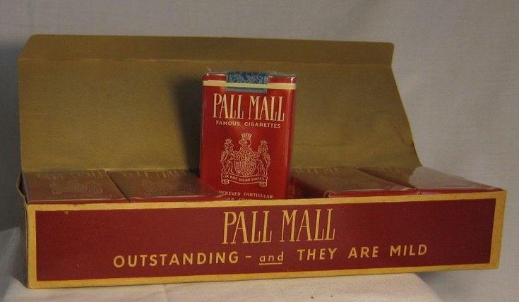 PALL MALL Cigarettes = Vintage, Original FULL Carton | eBay