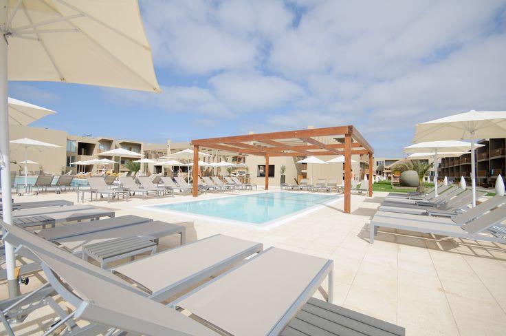 piscina no Oásis Salinas Sea