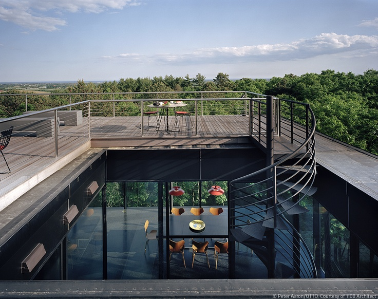 Watermill Houses | 1100 Architect | Photo: Peter Aaron/OTTO | Archinect