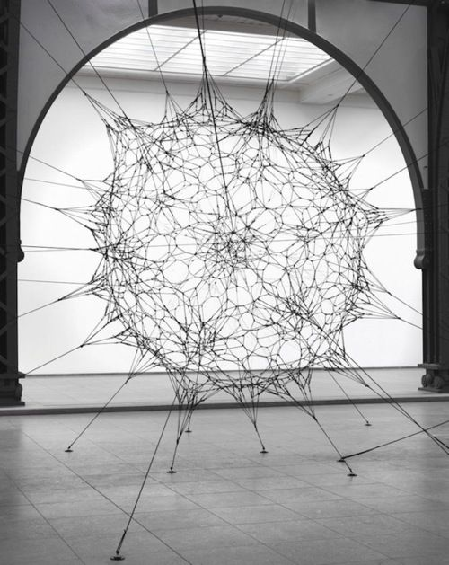 Cloud Cities|Thomás Sarceno    - Can't wait for Tomas Saraceno on the roof at the Met this summer.