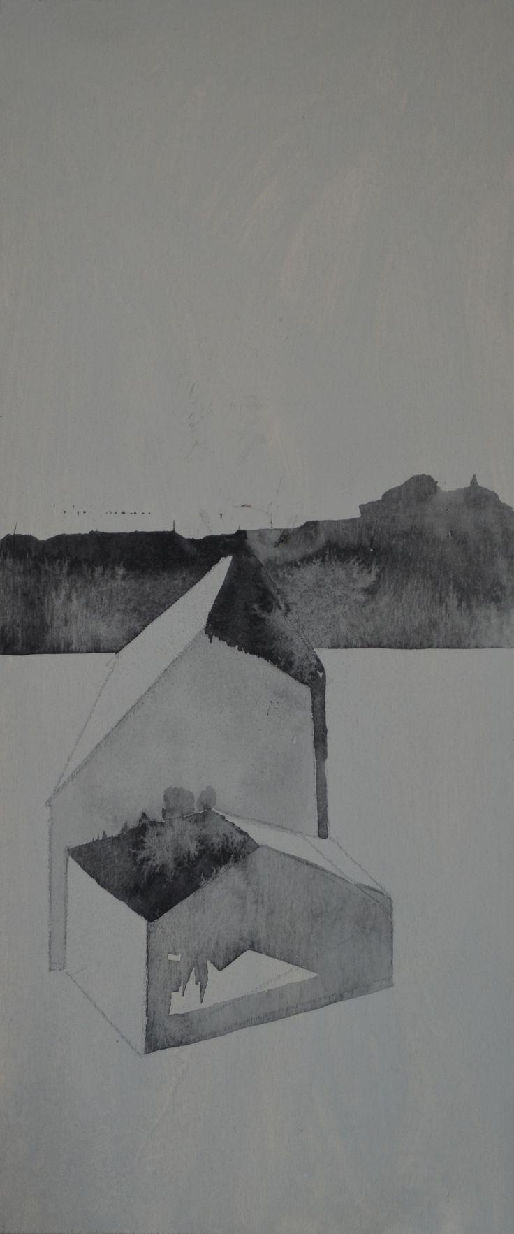 Ignò, olio su tela, 35X15, 2012