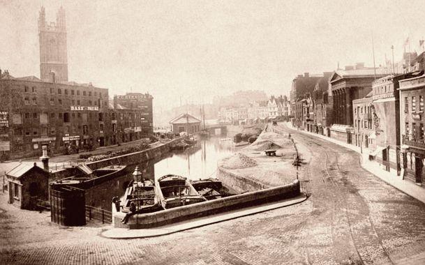 Bristol City Centre 1880.