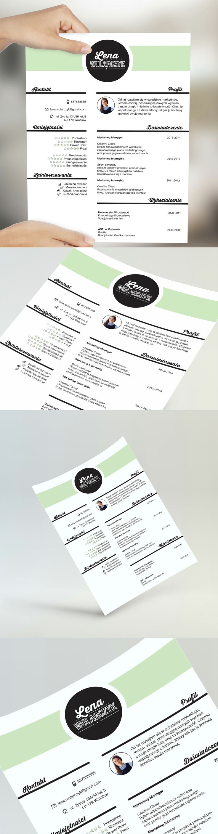 best images about creative resume by cvdesign creative resume by cvdesign us on