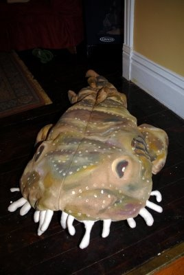 The Wobbegong Costume is born!