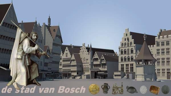 de stad van Bosch| Gemeente 's-Hertogenbosch Rondleiding + eventueel workshop in het Groot Tuighuis in Den Bosch. Hoe zag Den Bosch eruit in de tijd van Jeroen Bosch
