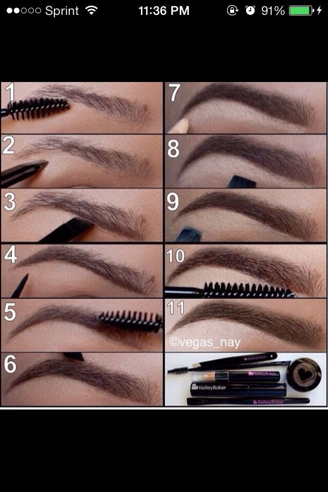 DIY Perfect Eyebrows