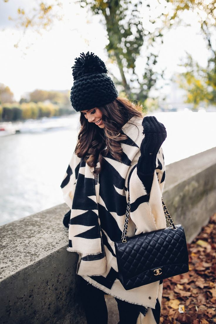 The Sweetest Thing: Poncho Weather in Paris