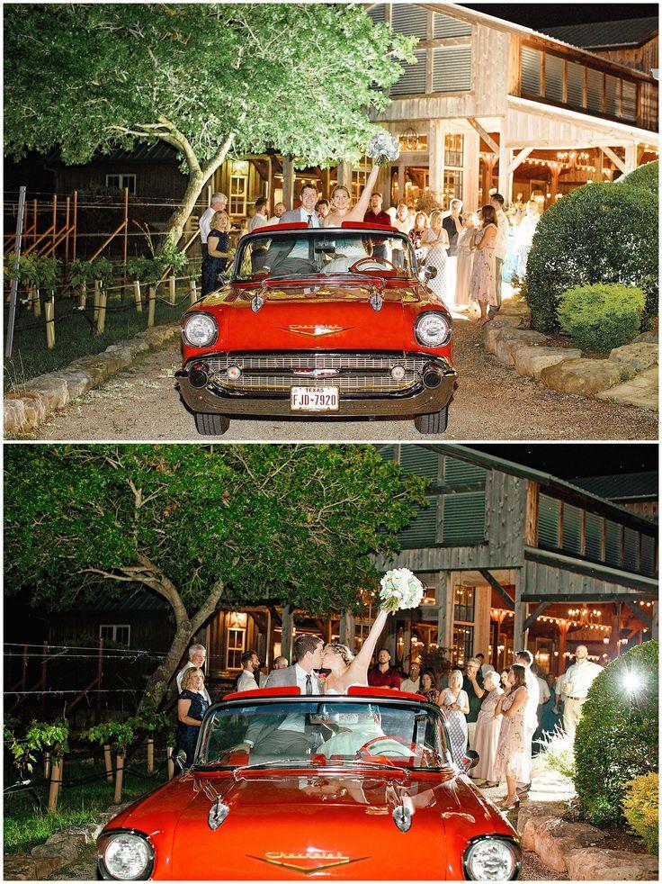 Vintage Getaway Car Wedding Riven Rock Ranch in 2020