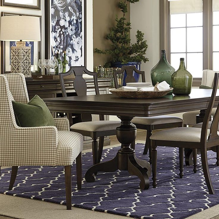 Ethan Allen French Countryside Dining Rooms