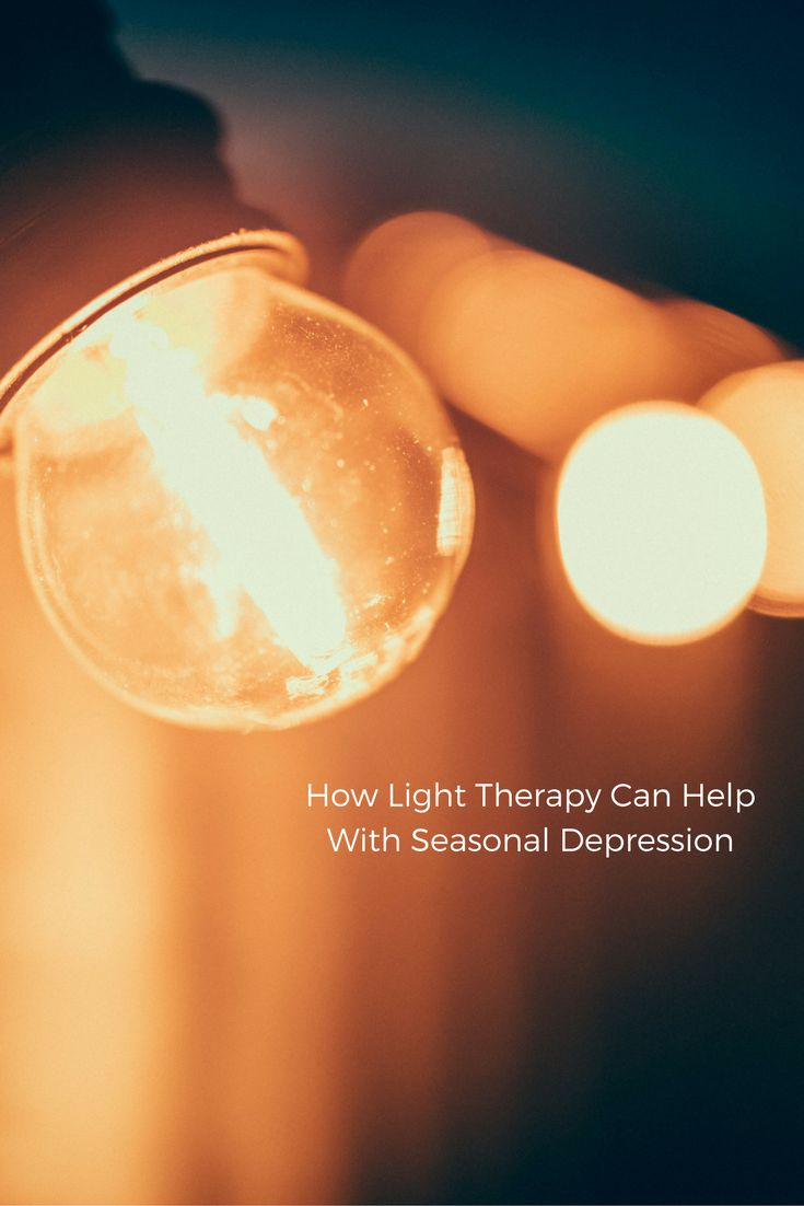 Changes in sunlight can trigger seasonal depression. These 6 types of light therapy might help  #depression #lighttherapy #everydayhealth | everydayhealth.com