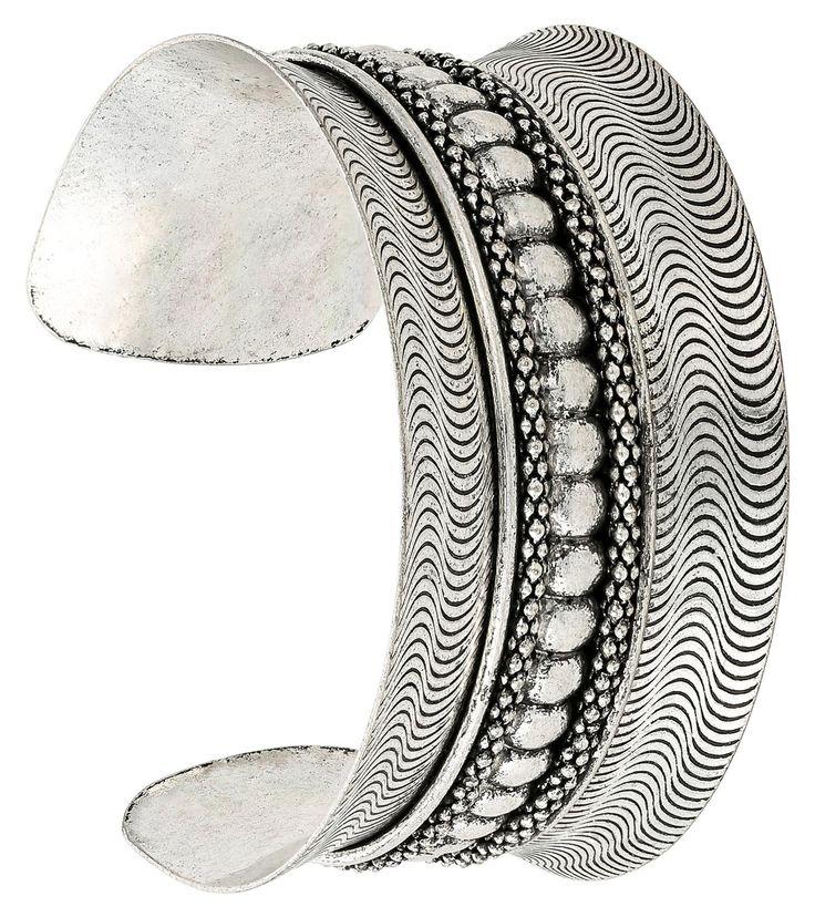 Bangle - Silver Metal