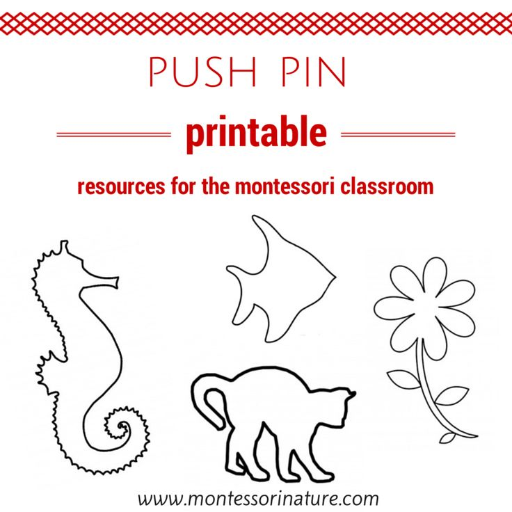 Best 25 push pin art ideas on pinterest push pin boards montessori nature pin poking activities free printables kids learning printables linky party pronofoot35fo Image collections