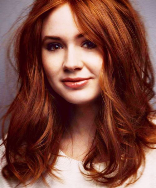"Natural Red Hair - wallpaper."""