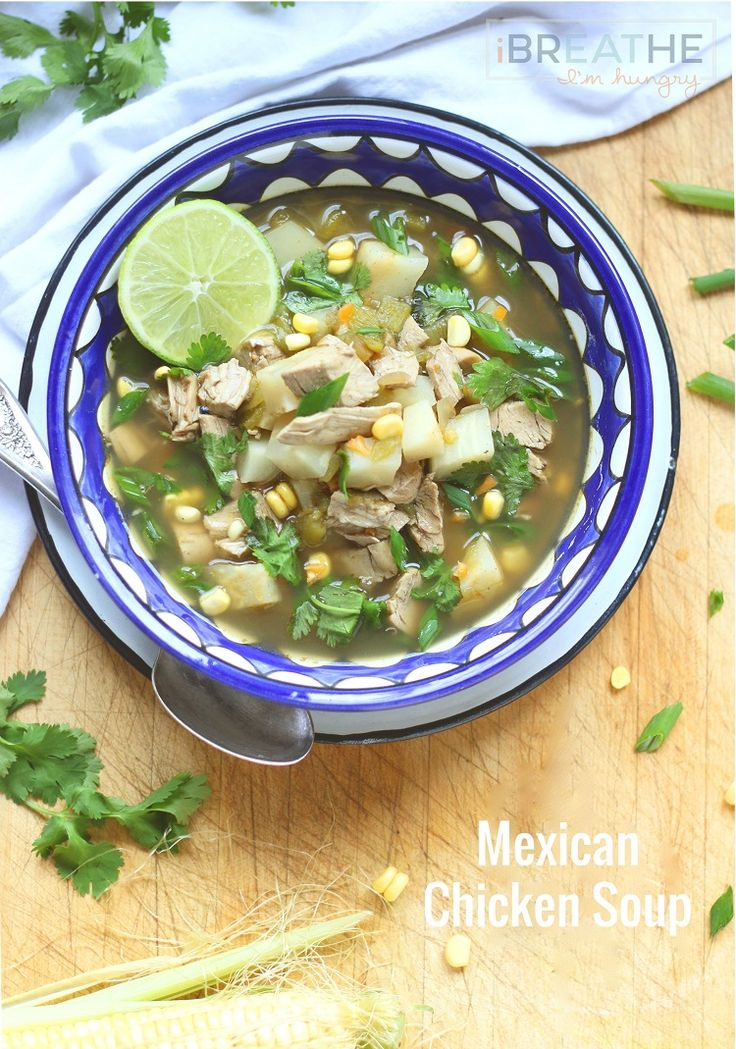 Low Carb Mexican Soup - A keto, atkins, lchf, gluten free, and Paleo friendly soup recipe from I Breathe Im Hungry