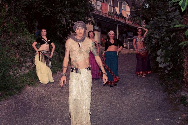 "my dance group Tribal-studio ""Flourish"" and me"