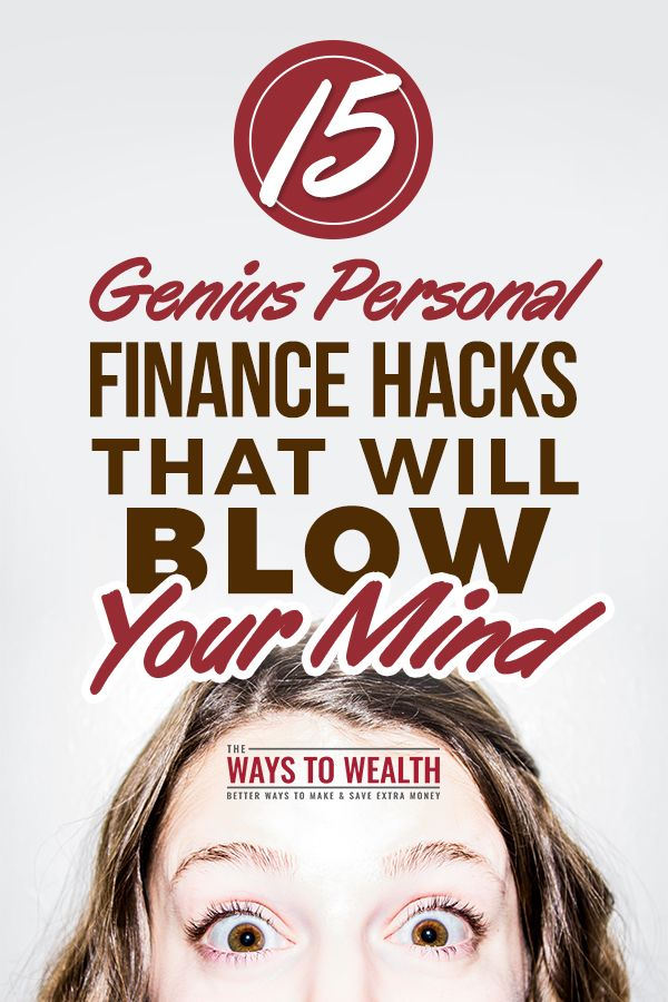 15 Genius Personal Finance Hacks That Will Blow Your Mind money management tips | personal finance tips | personal finance tips financial planning | financial planning for beginners ideas #moneymanagement #personalfinance