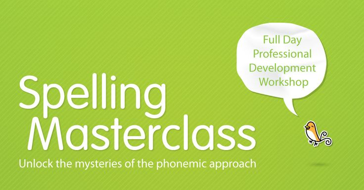 Calling Brisbane teachers – Edsco is hosting a Spelling Masterclass on 29 August! Find out how to unlock the mysteries of the phonemic approach. Hurry seats are limited! Book now so you don't miss out.