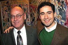 John Lloyd Young at Sardi's -  with Dad, Karl Young