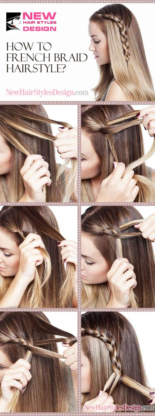 How to French Braid Hairstyle? - New Hair Styles - Looking for Hair Extensions to refresh your hair look instantly? @KingHair focus on offering premium quality remy clip in hair.